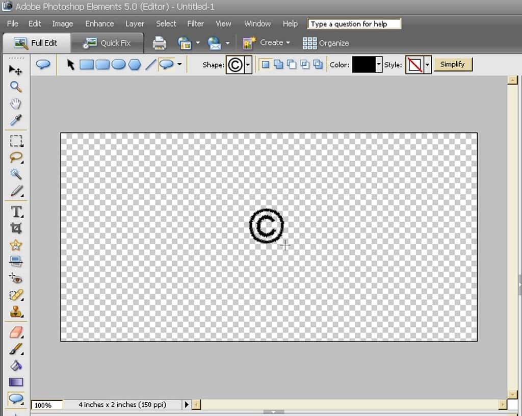 How to copyright your photos cranial hiccups 4 on your blank page click and drag your cursor creating the size of the you want buycottarizona Choice Image