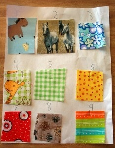 Sew-doku fabric assignments