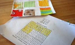 Sewing Basics: Nine Patch Quilt Sudoku Style Part II