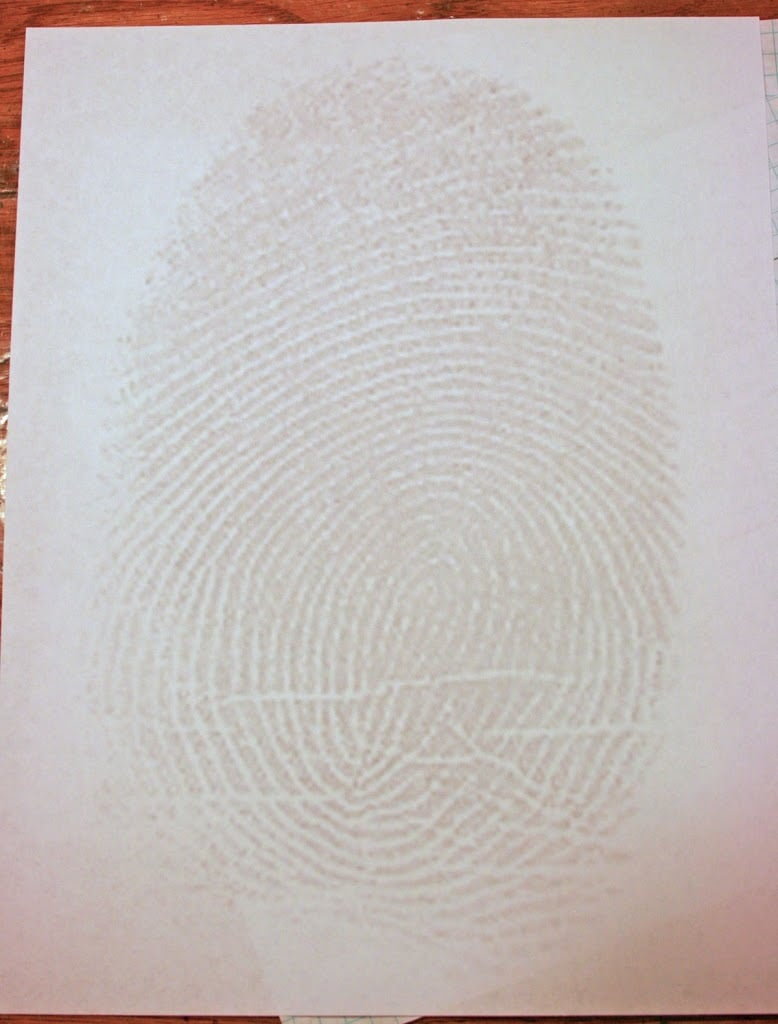 Creative Writing Day 10: About Me Fingerprint – Cranial Hiccups