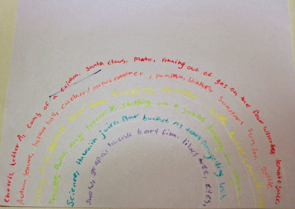 What's At the End of Your Rainbow? Creative Writing Workshop with Pam and Ian
