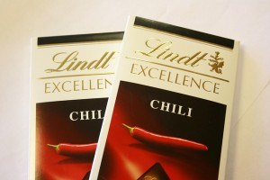 Lindt chili chocolate