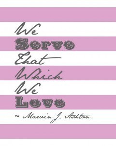 Serve What We Love