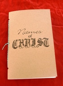 Names of Christ booklet 03