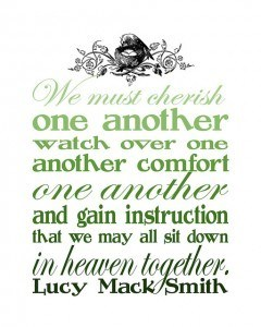sit in heaven together - green