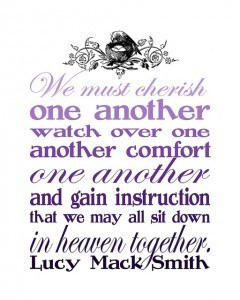 sit in heaven together - purple