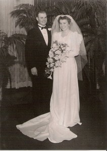 Don and Sylvia Wadsworth Wedding (August 1940)