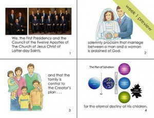 graphic relating to The Family a Proclamation to the World Printable known as Memorize The Household: A Proclamation in direction of the World-wide Cranial