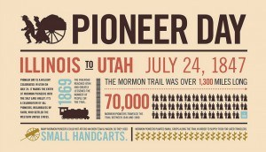 pioneer day graphic