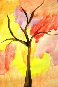 Fall art picture