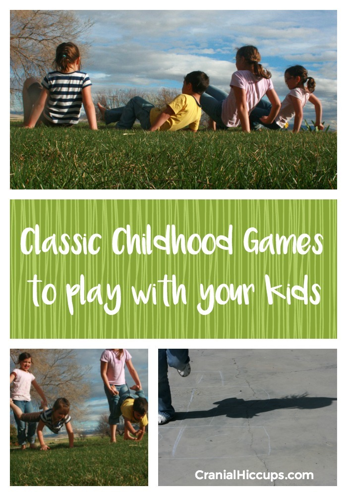 Classic Childhood Games to play with your kids