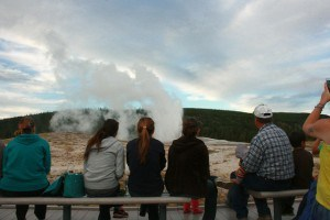 IMG_8448 - family watching old faithful