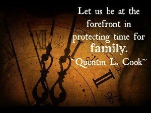 Protect Time for Families - Elder Cook