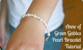 Anne of Green Gables Pearl Bracelet Tutorial