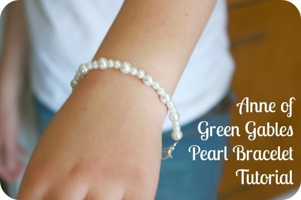 Anne of Green Gables Pearl Bracelet