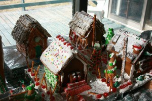 Our Gingerbread Houses 2013