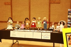 Family Connect Family History Fair - American Girl Dolls