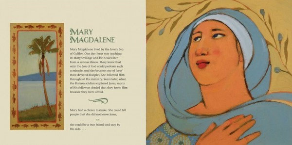 Girls Who Choose God Mary Magdalene page by McArthur Krishna and Bethany Spalding
