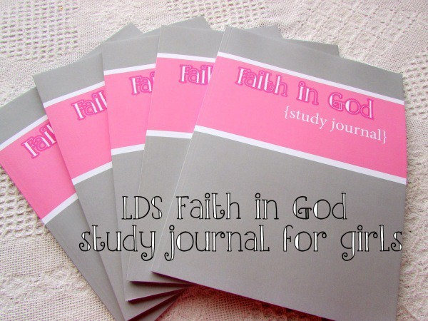 Faith in God study guide for girls