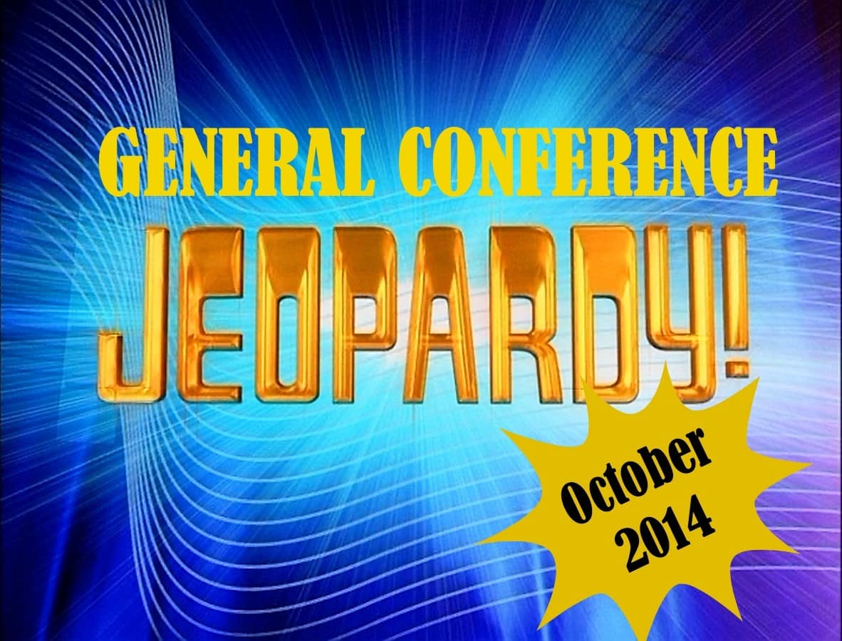 October 2014 General Conference Jeopardy – Cranial Hiccups