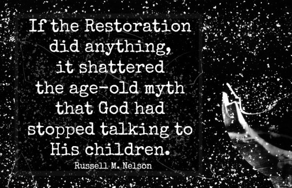 shattered myth Russell M Nelson