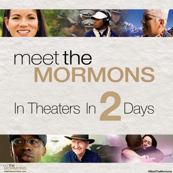 meet the mormons in 2 days
