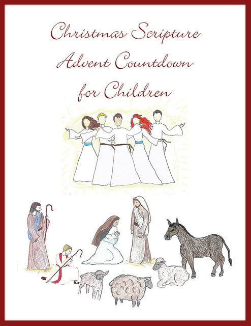 Christmas Scripture Advent for Children