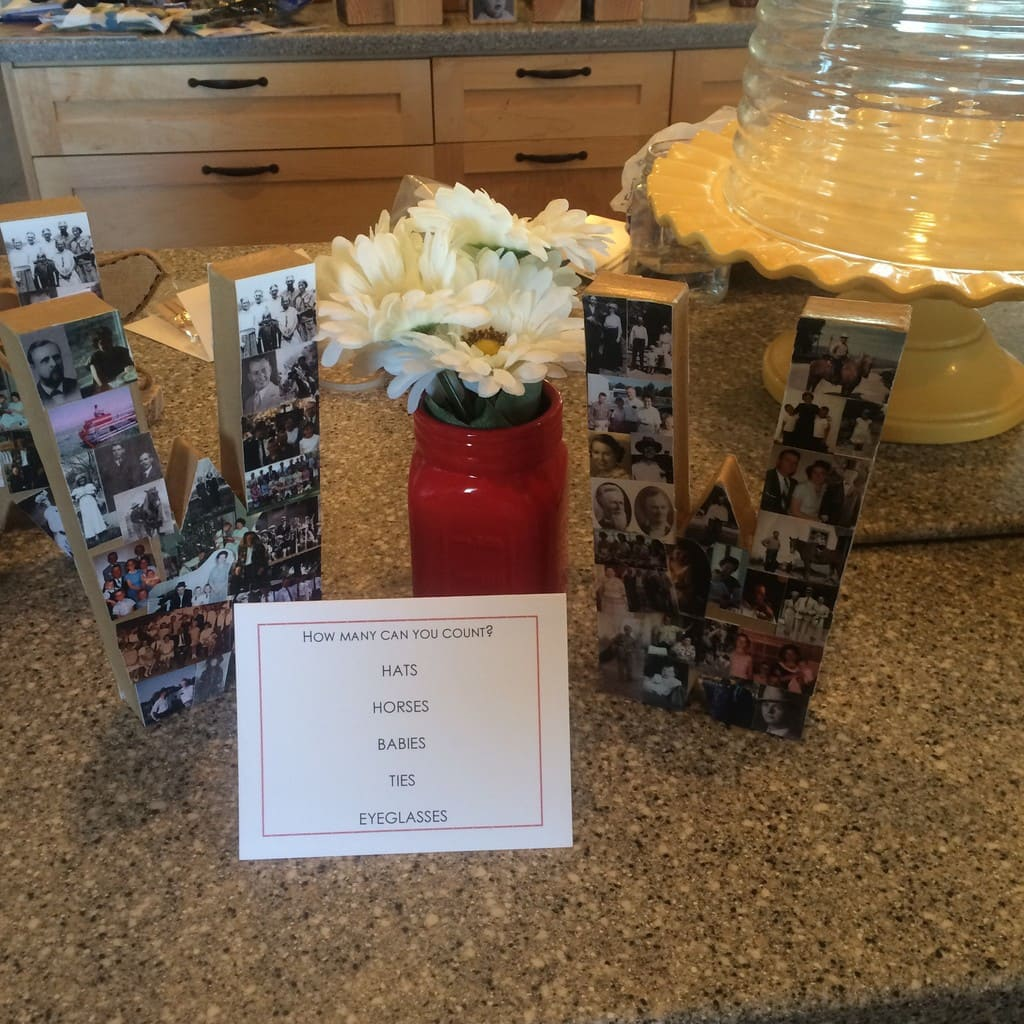 Excellent Family Reunion Centerpiece Ideas Cranial Hiccups Download Free Architecture Designs Embacsunscenecom