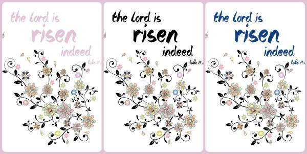 lord is risen collage