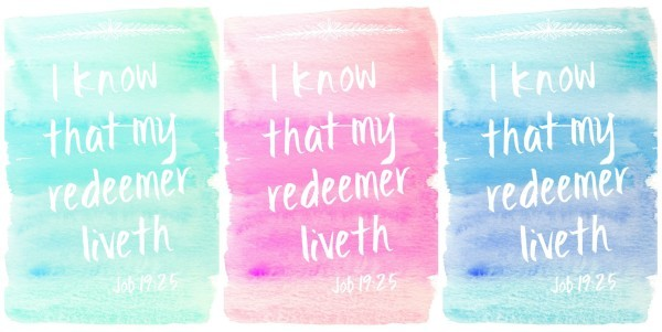 my redeemer liveth collage