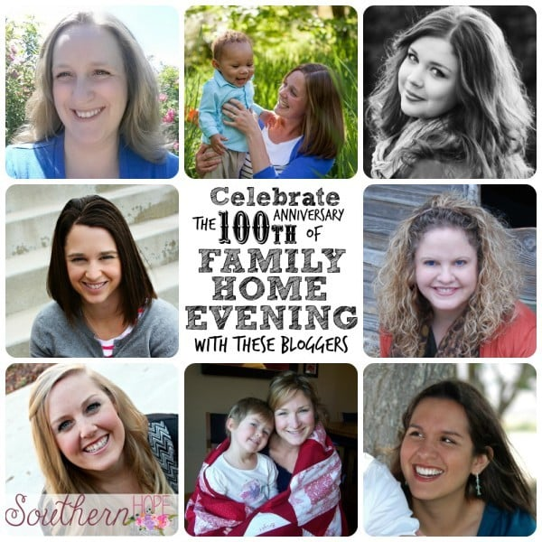 Family Home Evening 100th anniversary blog event