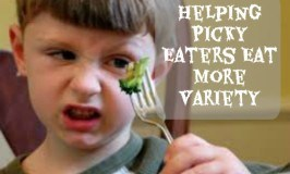 Helping Picky Eaters to Eat more Variety