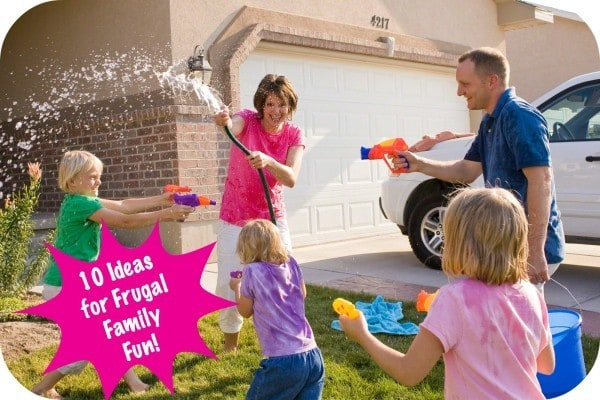 10 ideas for frugal family fun this summer!