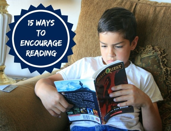 15 Ways to Encourage Reading