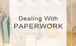 Dealing With Paperwork