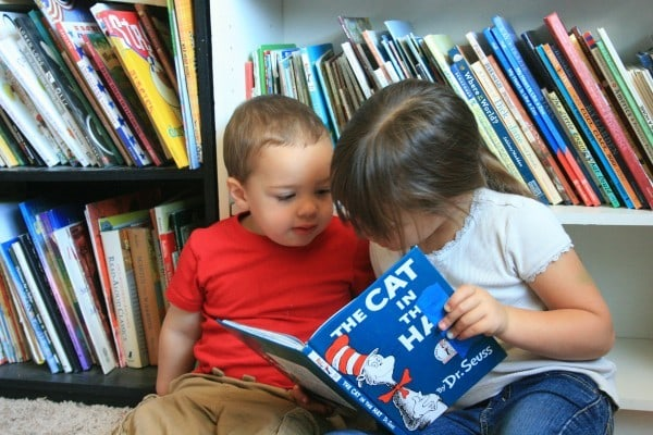 read to a sibling