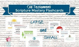 Old Testament Scripture Mastery Flashcards