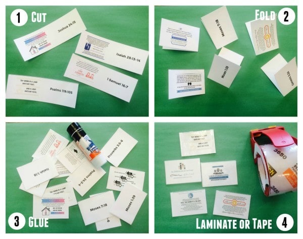 flashcard assembly