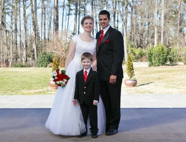 March 6, 2010, Wedding Day