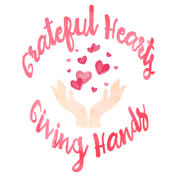 Grateful Hearts, Giving Hands - a series about gratitude and service on CranialHiccups.com