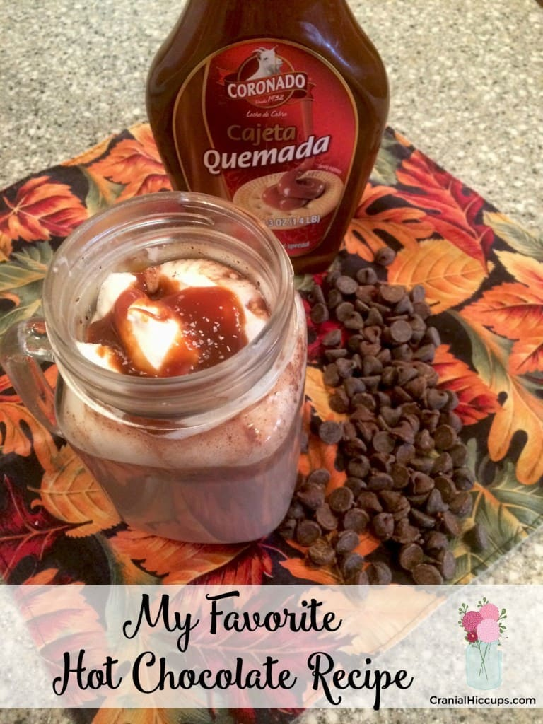 My favorite hot chocolate recipe! Creamy, rich, and oh-so-chocolatey!