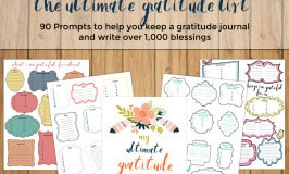 The Ultimate Gratitude List