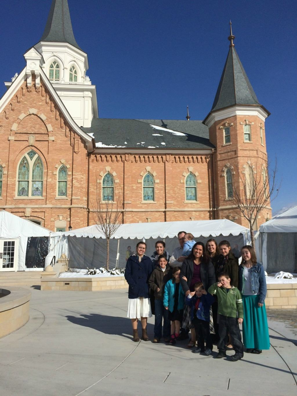Provo City Center Temple Open House Cranial Hiccups