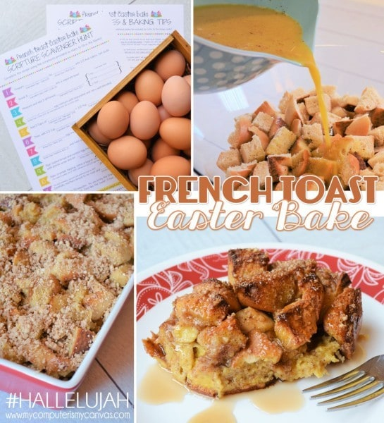 French Toast Easter Bake