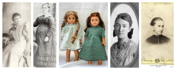 Doll clothes for pioneer ancestors