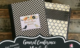 General Conference Notebook with Speaker Tabs