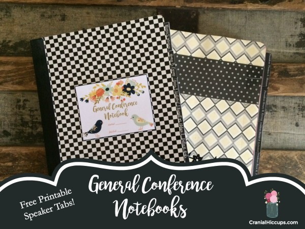 General Conference Notebooks