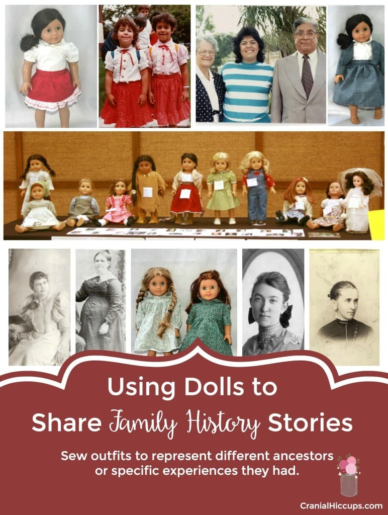 Using Dolls to Share Family History Stories