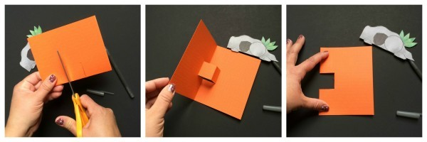 easter pop up card instructions