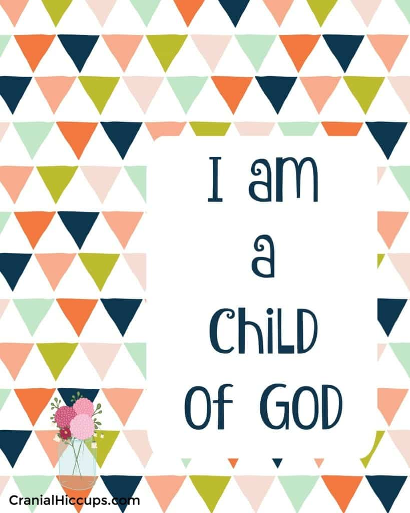 you are a child of god fhe lesson u2013 cranial hiccups